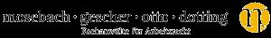 Logo von Mosebach Gescher Otto Dotting Rechtsanwälte Partnerschaft mbB